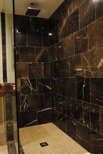 Robert E Lee Large Modern Shower